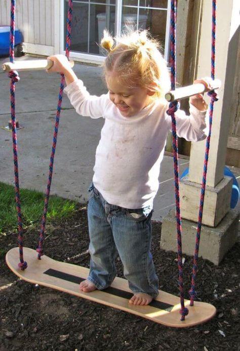 Schaukel Diy  12 DIY Garten Schaukel du fast ohne Anstrengung