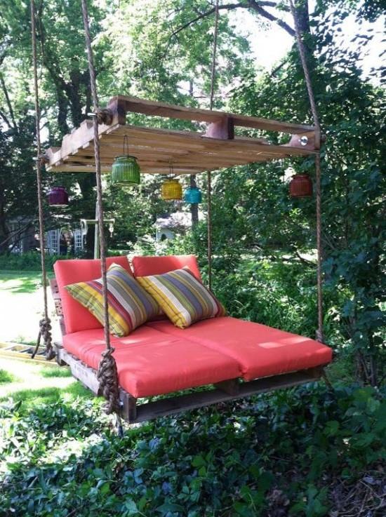 Schaukel Diy  Möbel aus Paletten 105 fantastische Ideen zum Nachbauen