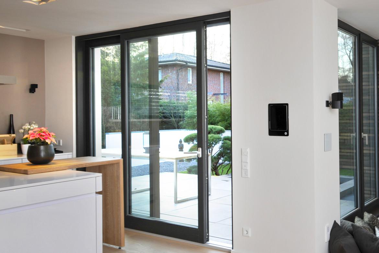 Schiebetür Terrasse  Design Fenster von rekord Qualität seit 1919