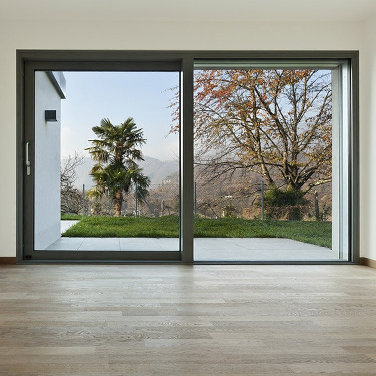 Schiebetür Terrasse  Terrassentür 2 flüglig Holz Alu PVC Preis & Maße