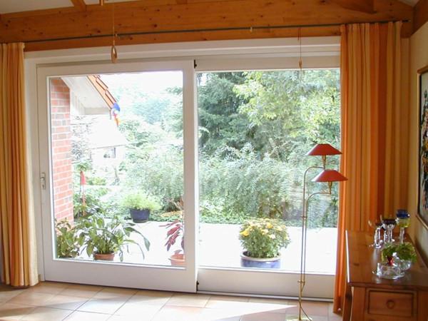 Schiebetür Terrasse  Schiebetür für Terrasse ein nahtloser Übergang zum