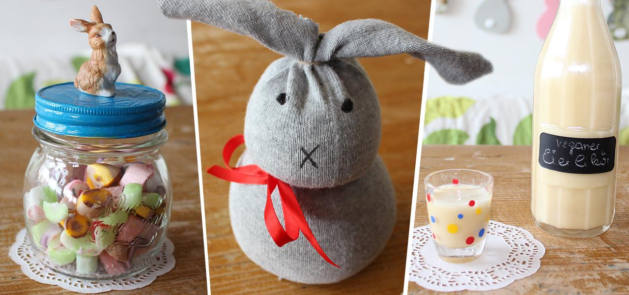 Schnelle Geschenke Selber Machen  Ostergeschenke selber machen ღ hier 5 schnelle Ideen zum