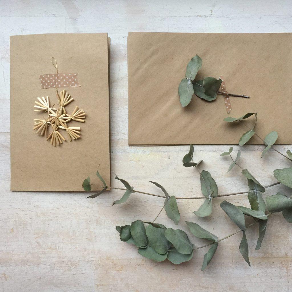 Schnelle Geschenke Selber Machen  Schnelle Weihnachtskarten selber machen Mamablog & Shop