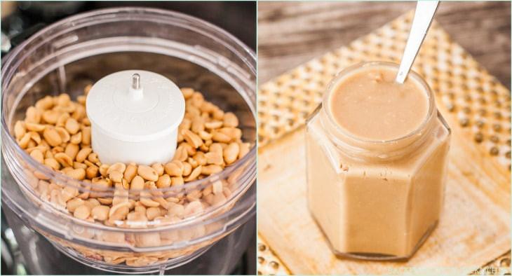 Schnelle Geschenke Selber Machen  Erdnussbutter selbermachen