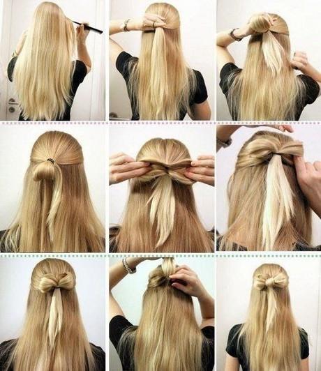 Schöne Einfache Frisuren  Schöne und einfache frisuren für lange haare
