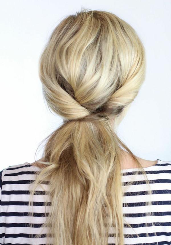 Schöne Einfache Frisuren  Einfache Frisuren 80 originelle Modelle