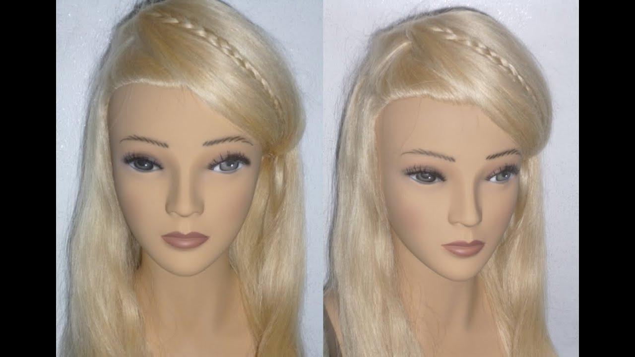 Schöne Einfache Frisuren  EINFACHE Frisuren Uni Alltag Freizeit Schulfrisuren