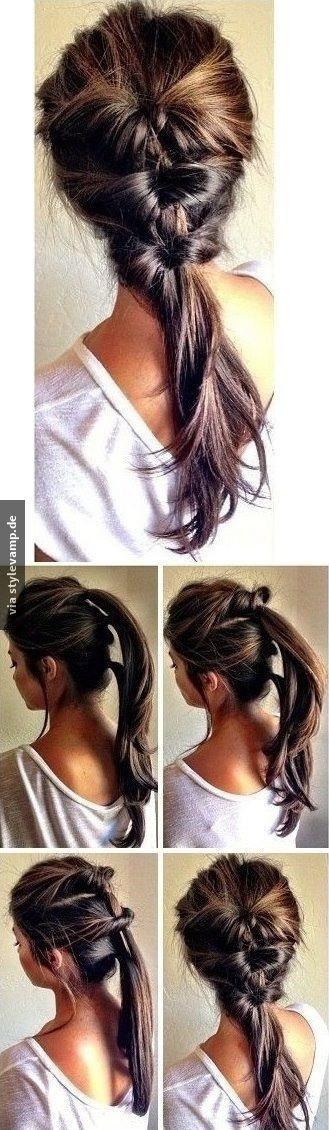 Schöne Einfache Frisuren  Schöne schnelle einfache frisuren