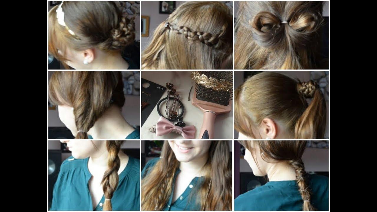 Schöne Einfache Frisuren  Schöne einfache und schnelle Frisuren für den Alltag