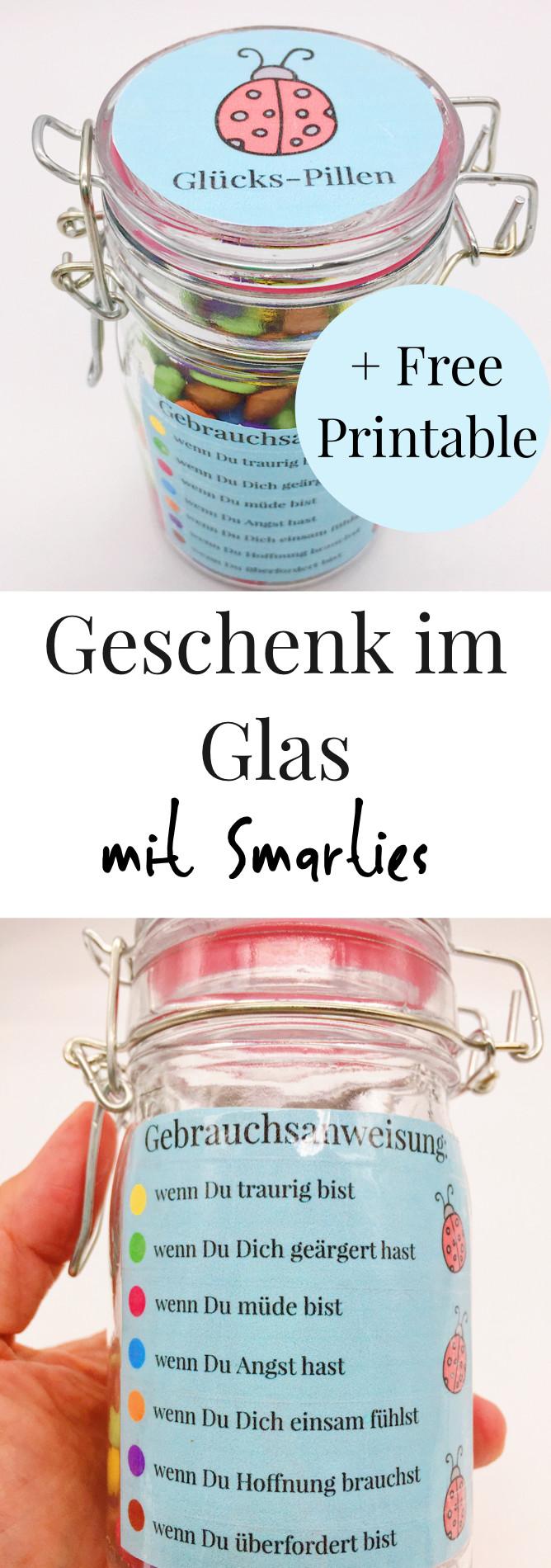 Schöne Geschenke Für Frauen  DIY Geschenke im Glas selber machen – kreative