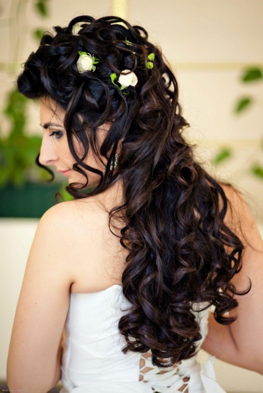 Schöne Hochzeit  Schöne Hochzeit Frisur Abbd