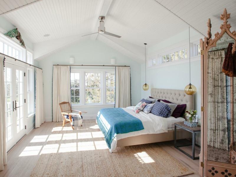 Schöne Schlafzimmer  Schlafzimmer mit Dachschräge Schöne Gestaltungsideen