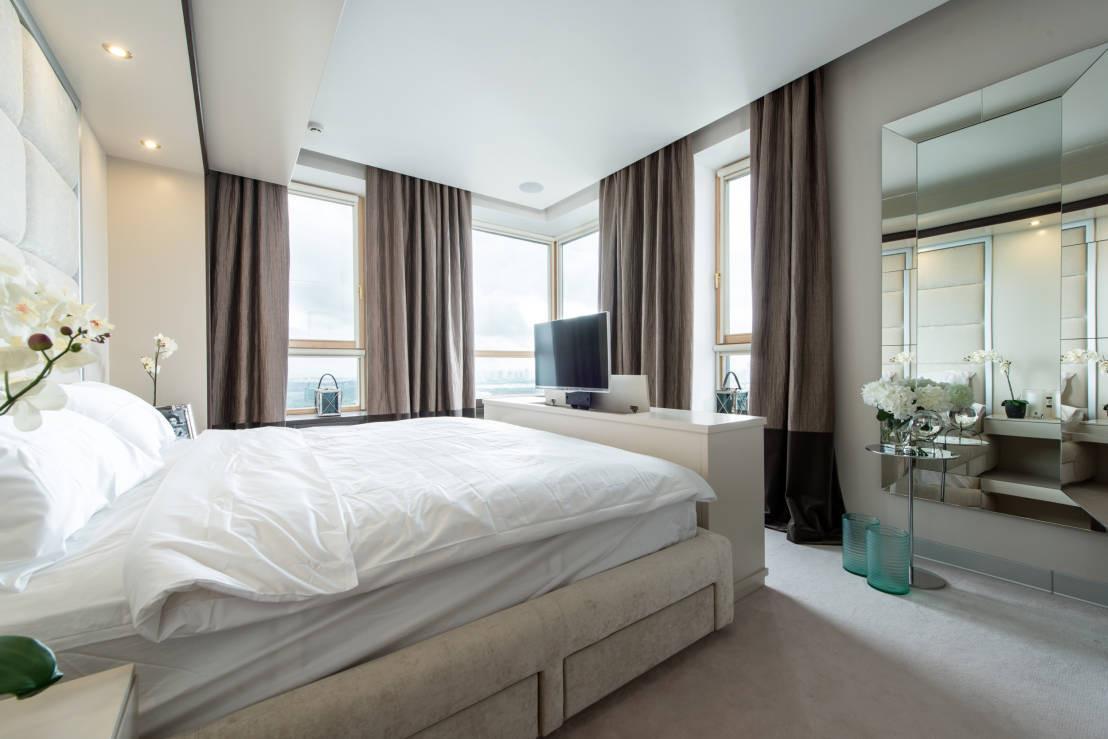 Schöne Schlafzimmer  Schöne Vorhänge für Schlafzimmer mit Stil