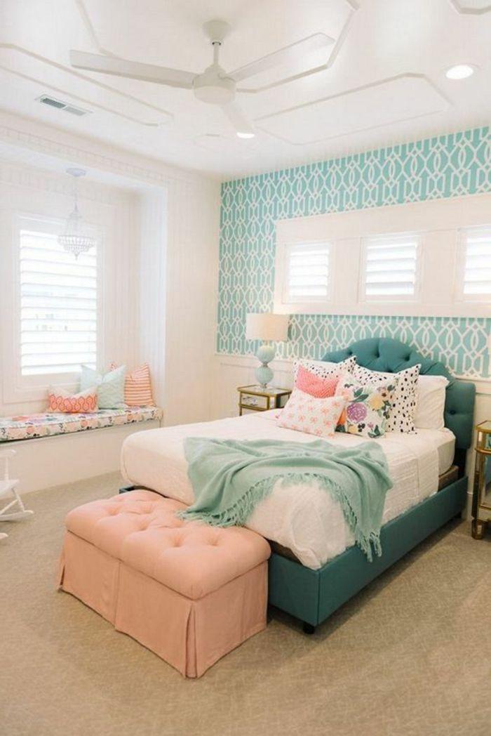 Schöne Schlafzimmer  Erstaunlich Schöne Tapeten Fürs Schlafzimmer Im