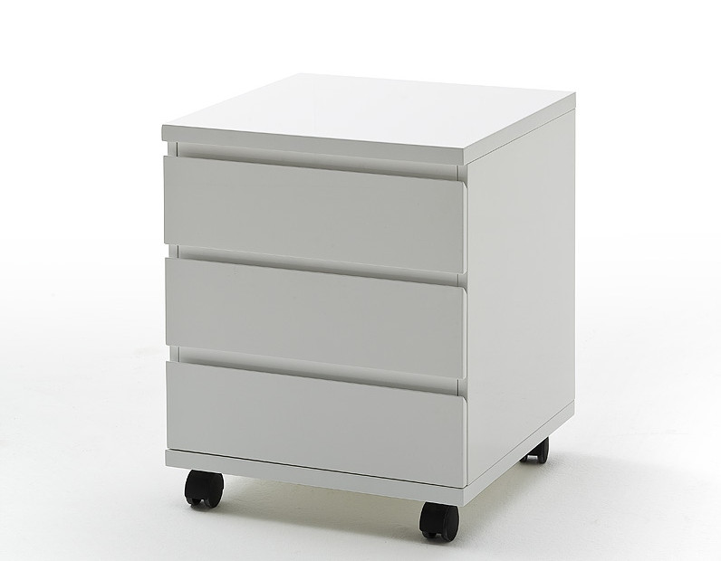 Schreibtisch Container Weiß 2021