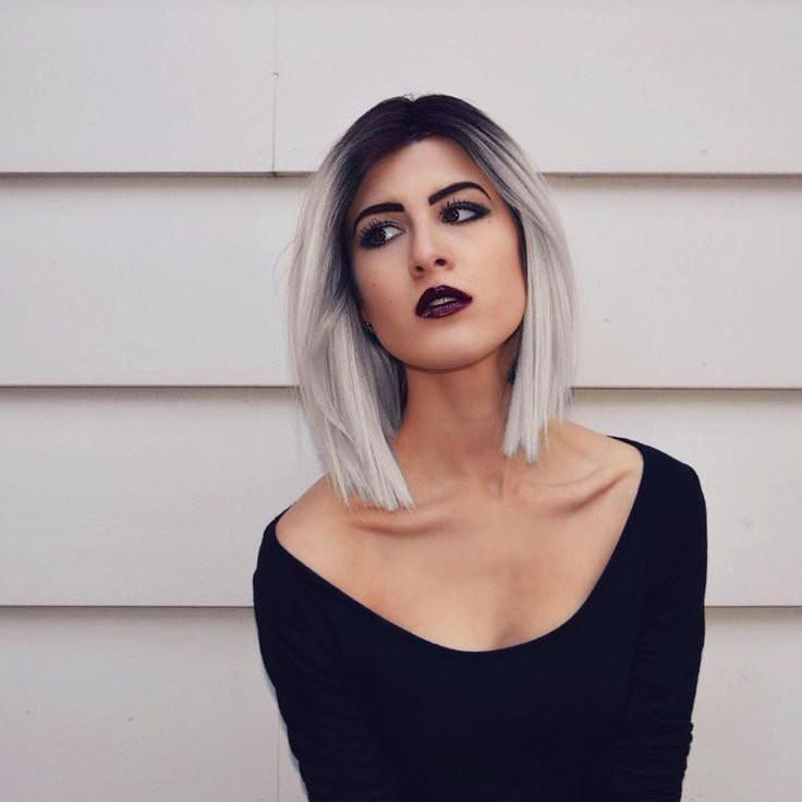 Schulterlange Frisuren Damen  Schnell check Schulterlange Haare liegen voll im Trend