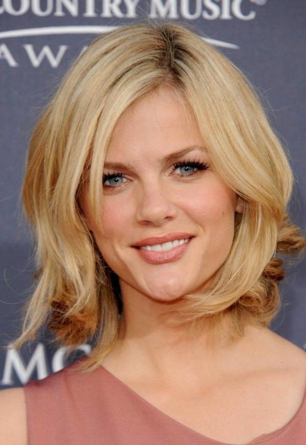 Schulterlanges Haar Frisuren  Frisuren für schulterlanges Haar trendy Haarschnitte von
