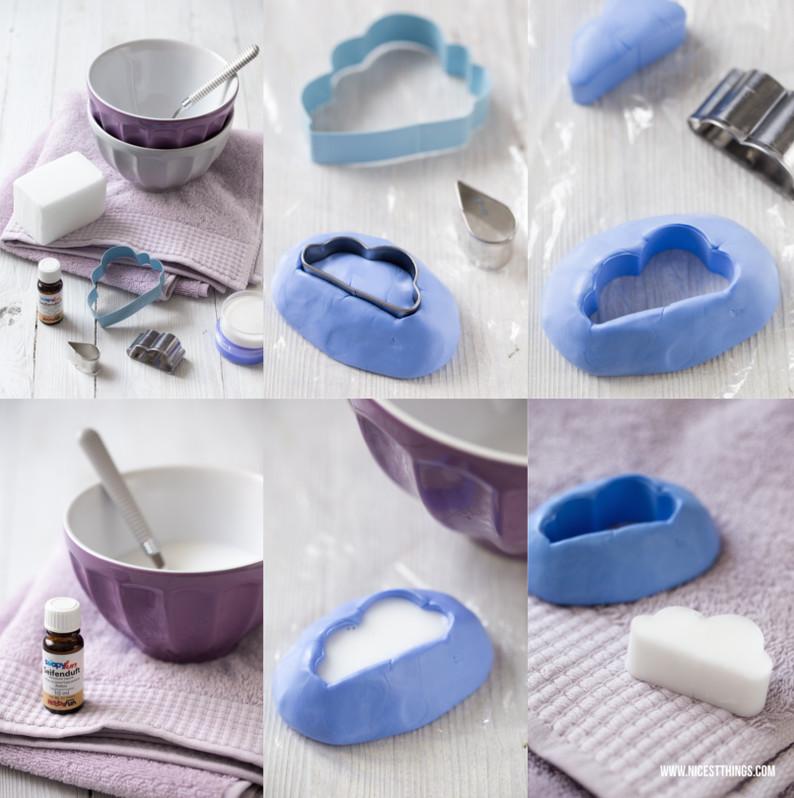 Seife Diy  Muttertags DIY Seife in Wolkenform selber machen