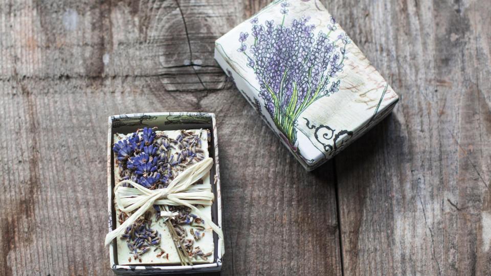 Seife Diy  Seife selber machen DIY Anleitung für Lavendelseife