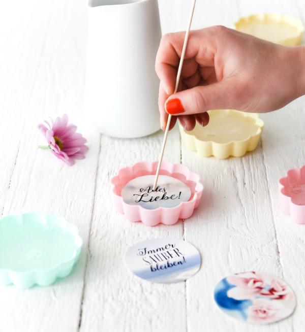 Seife Diy  Eine DIY Geschenkidee nicht nur toll zum Muttertag