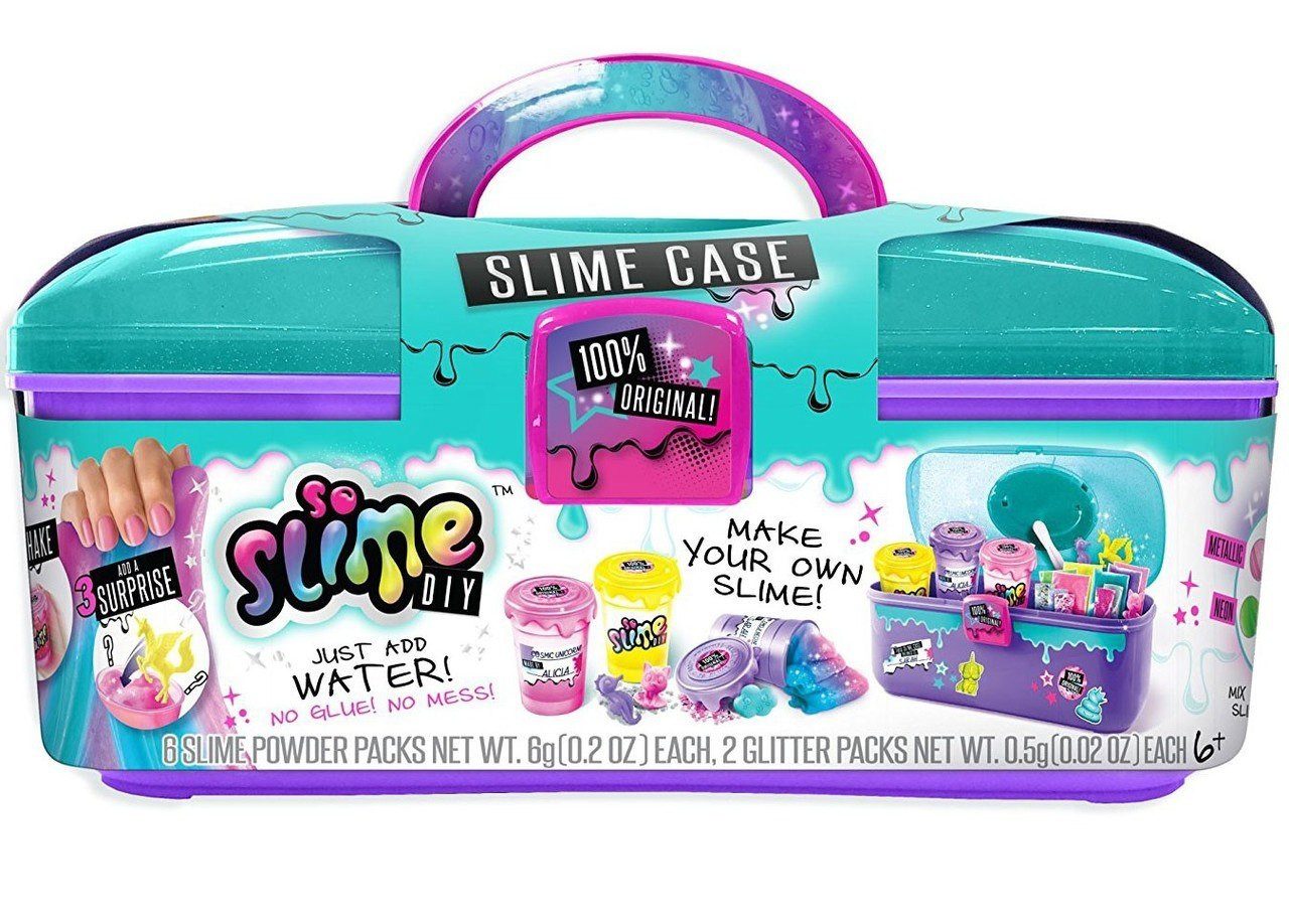 Slime Diy  So Slime DIY Slime Case Storage Kit Playset Canal Toys