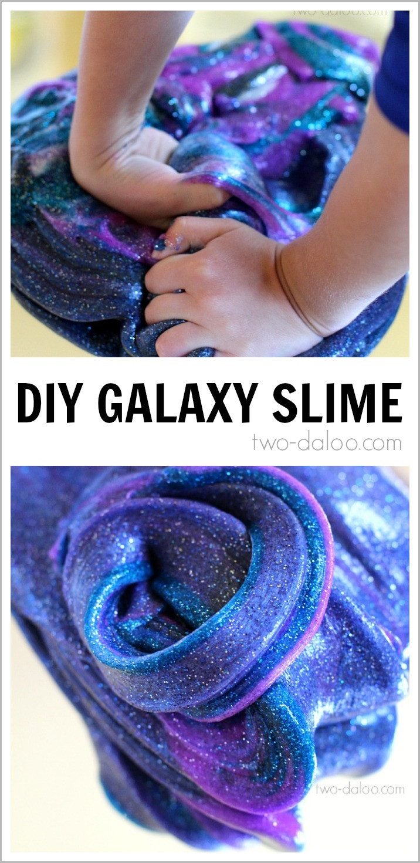 "Slime Diy  DIY Galaxy Slime Man Vs Pin 40 ""This just"