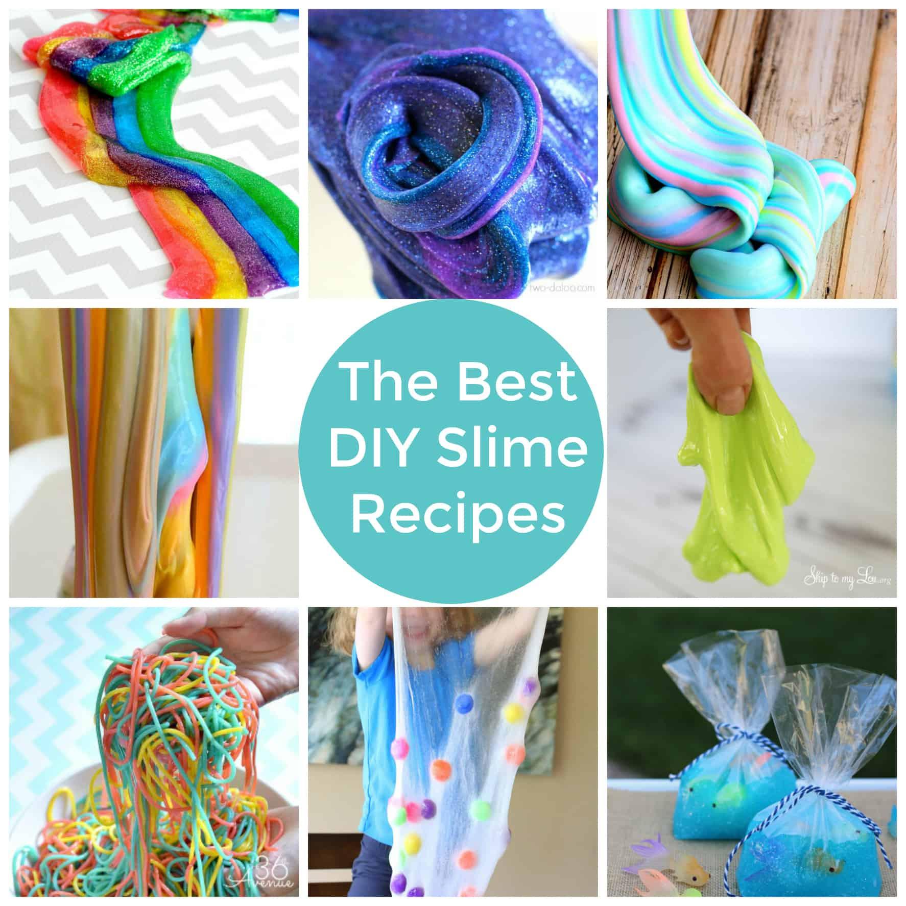 Slime Diy  The Best DIY Slime Recipes