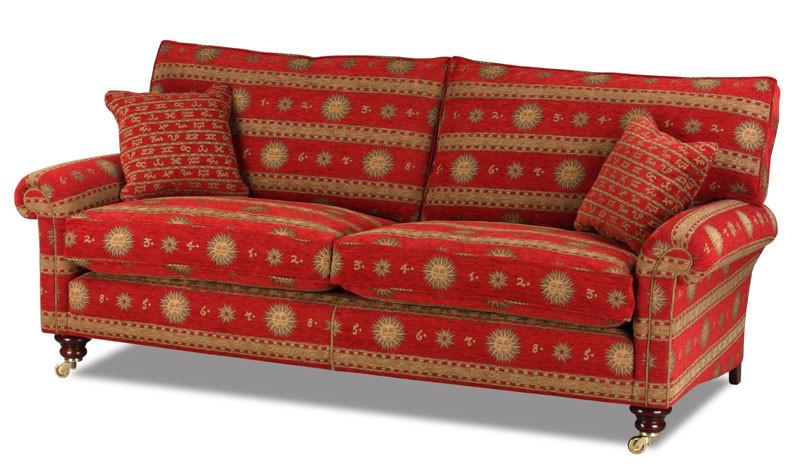 Sofa Englisch  Landhaus Sofa im englischen Landhausstil Handgefertigt