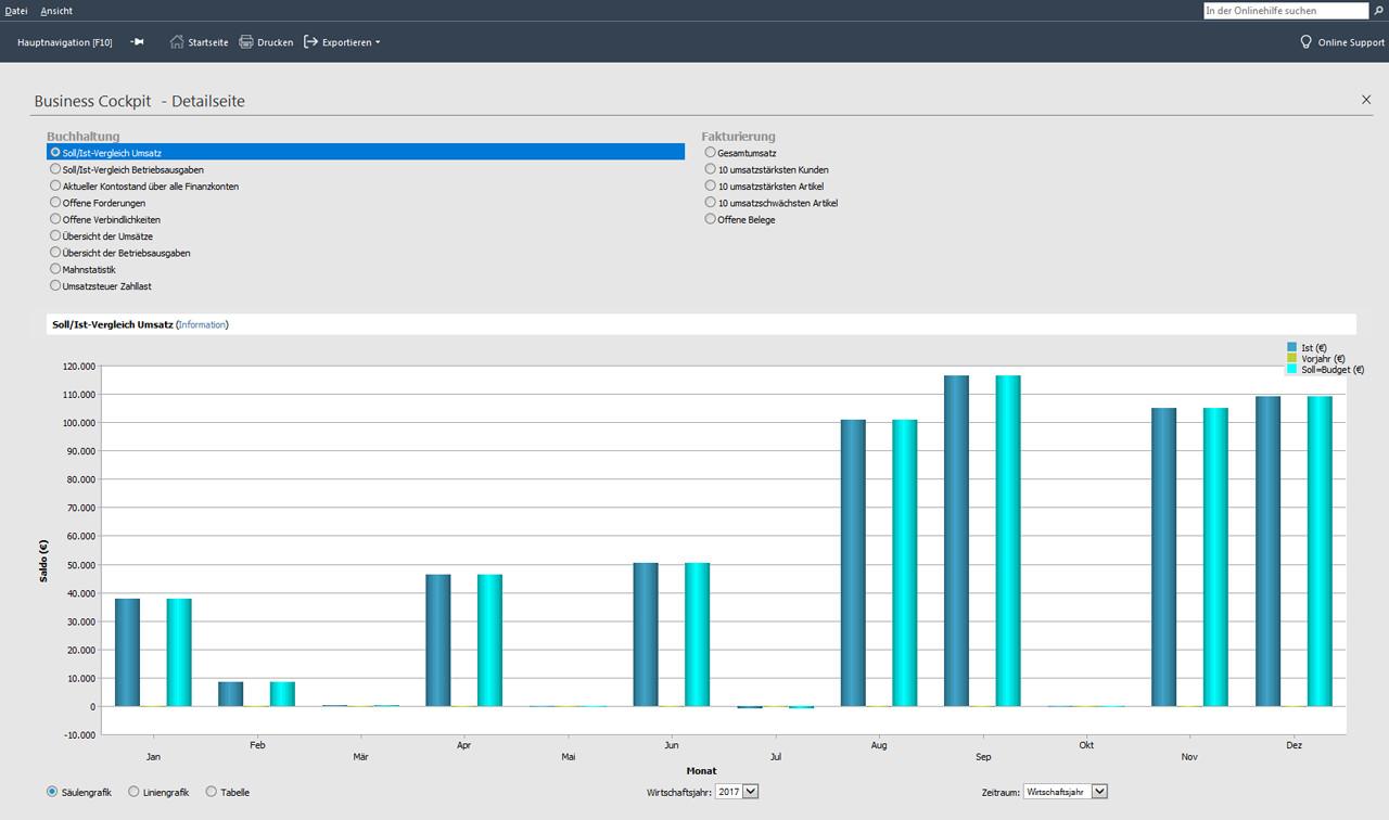 Software Handwerk  Buchhaltungssoftware für Handwerk Lexware financial