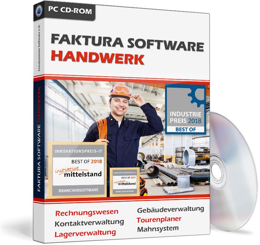 Software Handwerk  Faktura Handwerk das Rechnungsprogramm für Handwerker