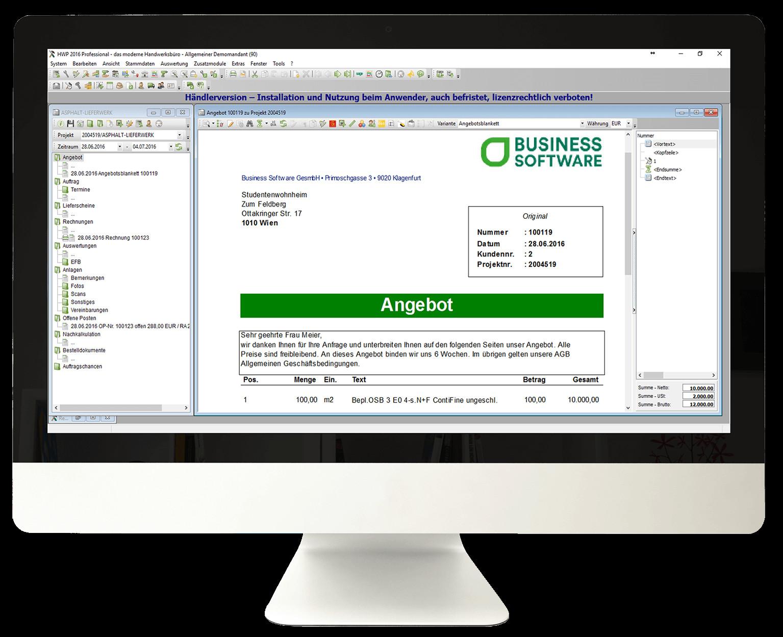 Software Handwerk  Sage 50 Handwerk Business Software