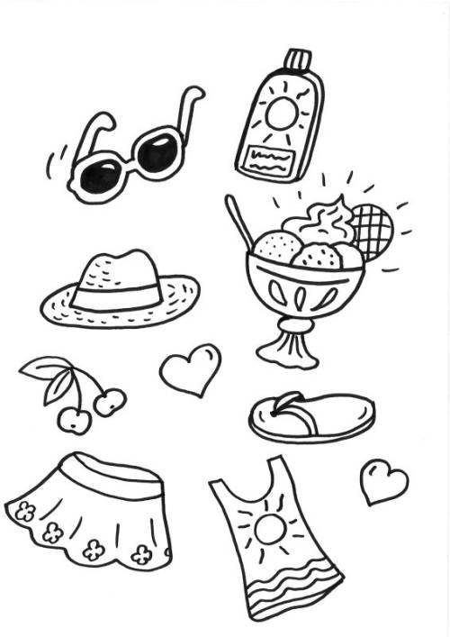 die 20 besten ideen für sommerferien ausmalbilder  beste