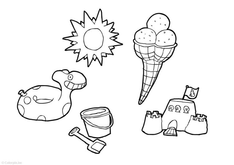 die 20 besten ideen für sommerferien ausmalbilder - beste