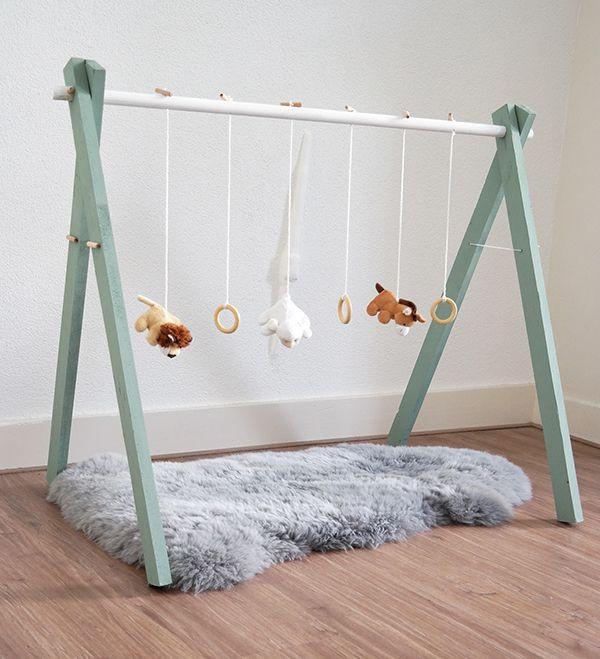 Spielbogen Diy  Houten babygym Ideas for my kiddos