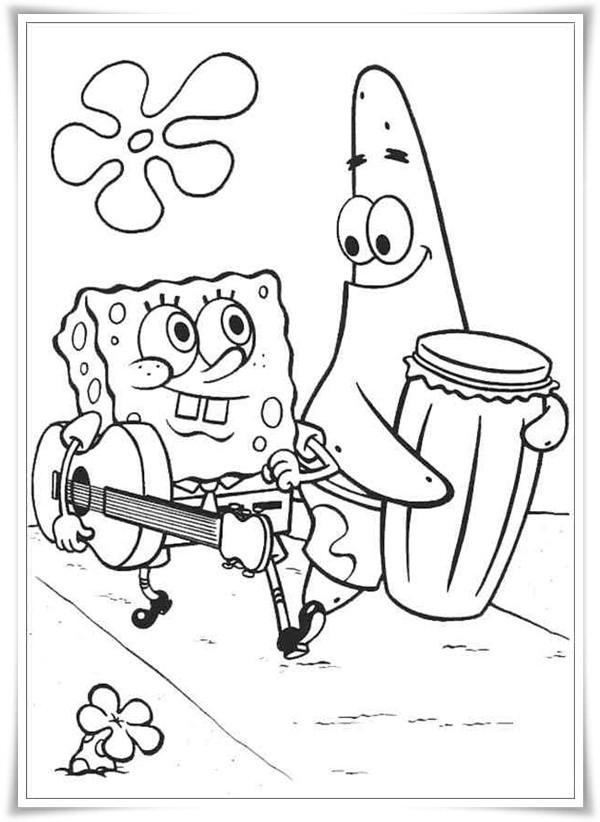 top 20 spongebob ausmalbilder  beste wohnkultur