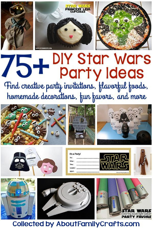 Star Wars Diy  75 DIY Star Wars Party Ideas – About Family Crafts