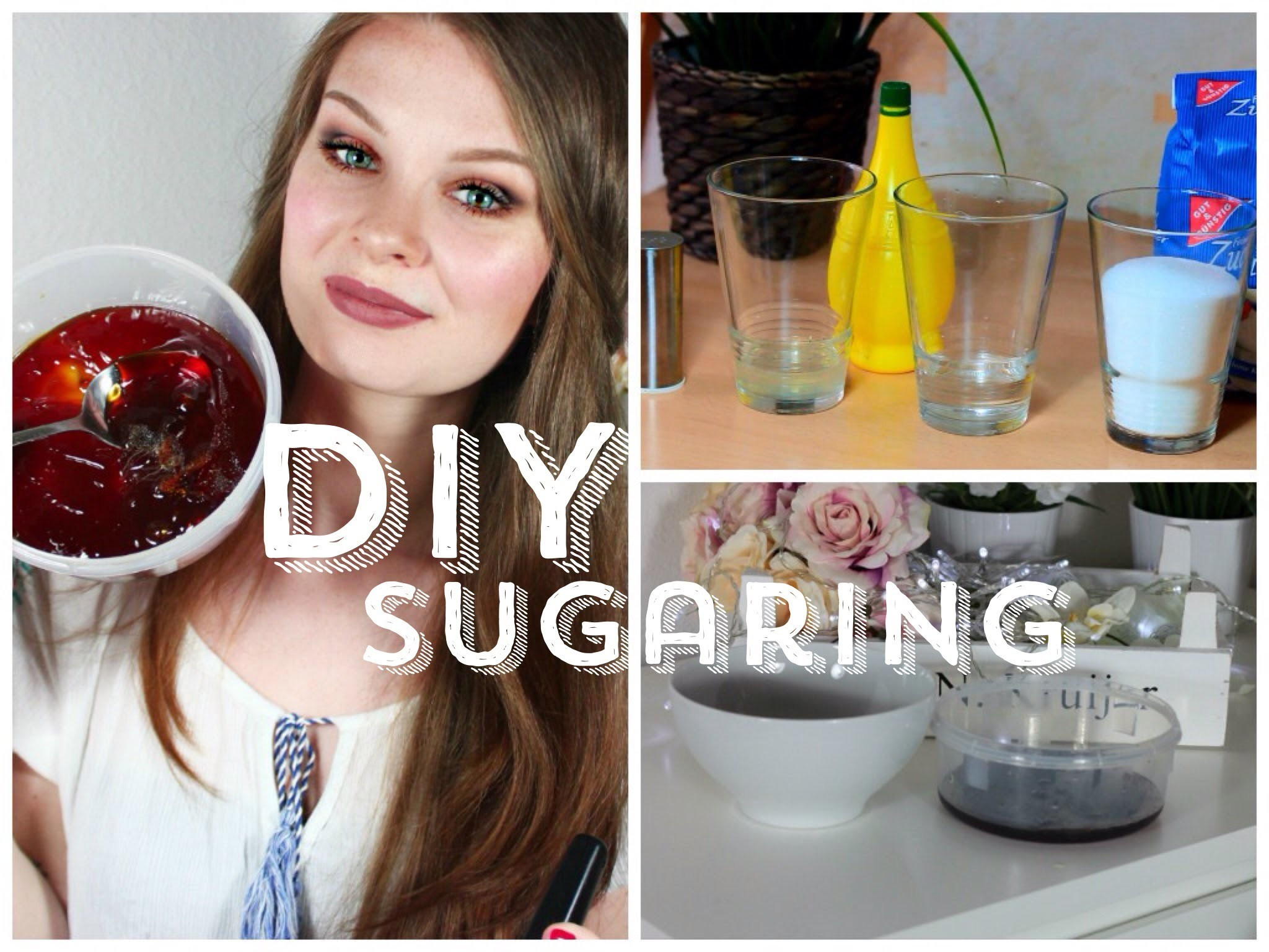 Sugaring Paste Diy  Sugaring Haarentfernung • DIY ZUCKERPASTE
