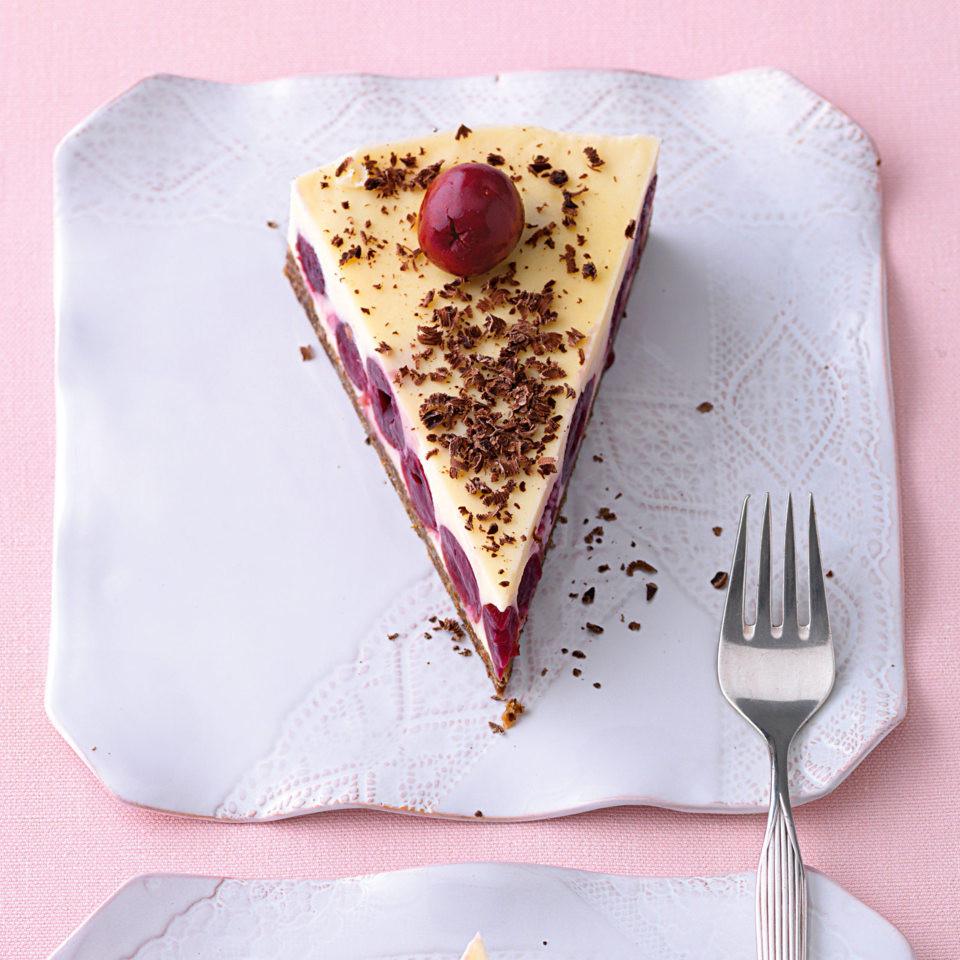 Süßkirschen Kuchen  Süßkirschen Pumpernickel Torte Rezept
