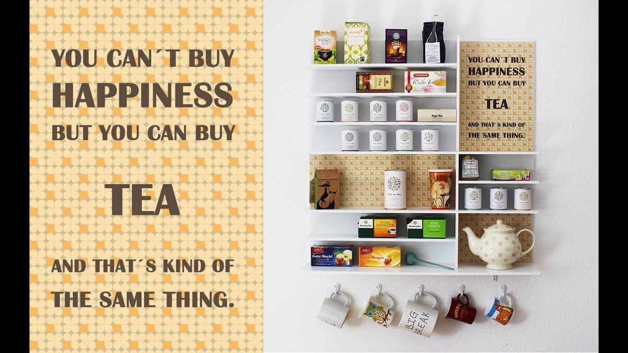 Tee Aufbewahrung Diy  Tee Aufbewahrung Wand – Wohn design