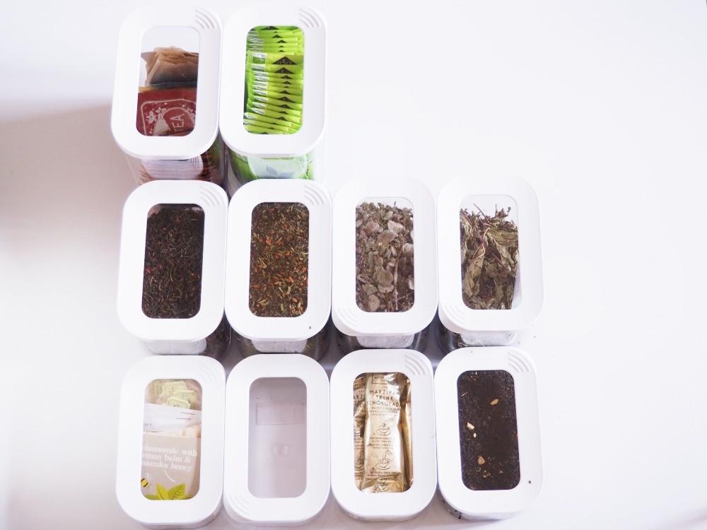 Tee Aufbewahrung Diy  Tee ordentlich aufbewahren meine Teesammlung bekommt