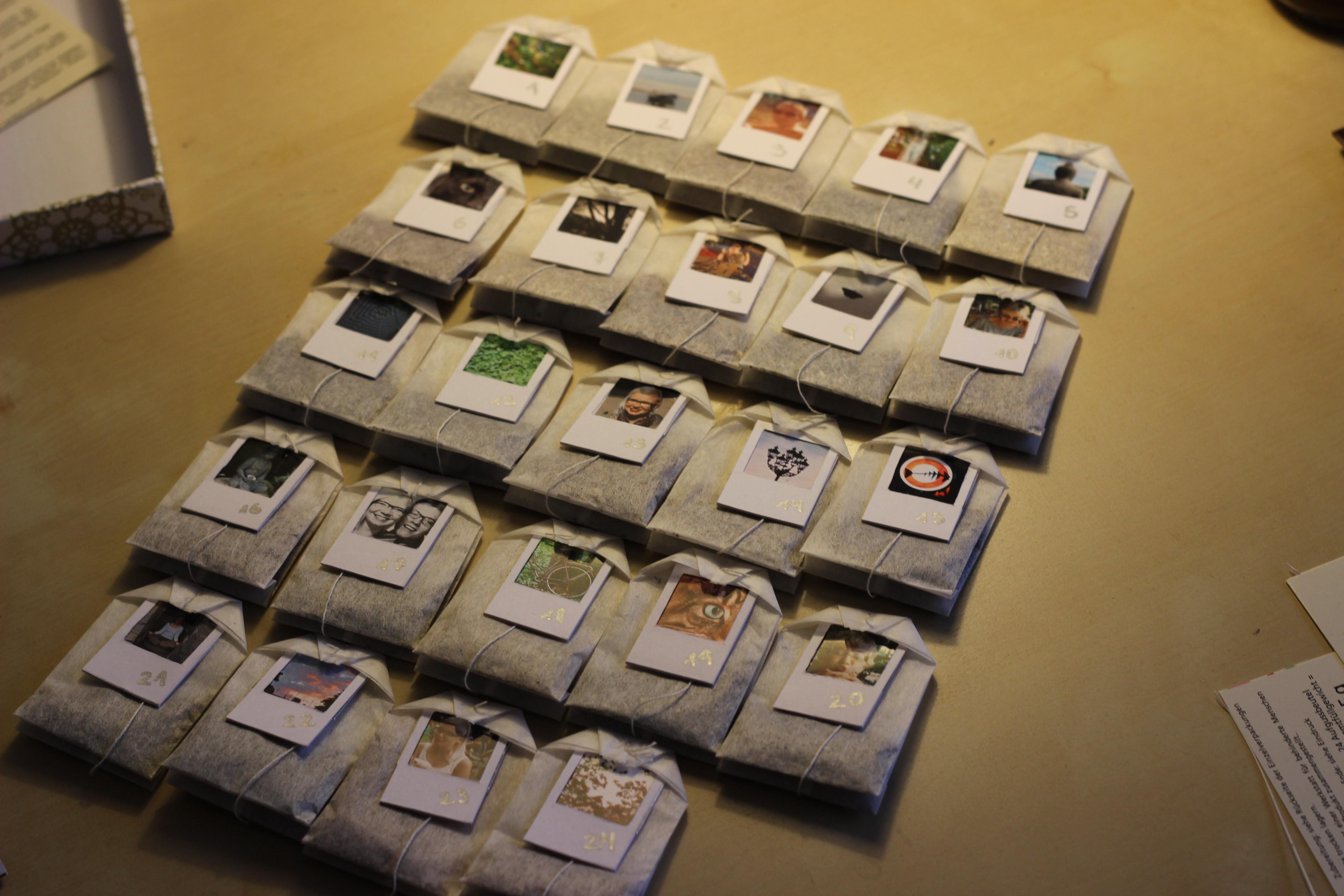 Tee Aufbewahrung Diy  DIY Foto Tee Adventskalender – schlechte Idee