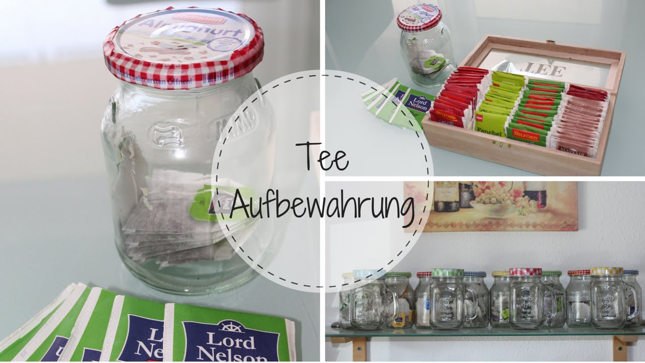 Tee Aufbewahrung Diy  DIY Teeaufbewahrung praktisch und dekorativ
