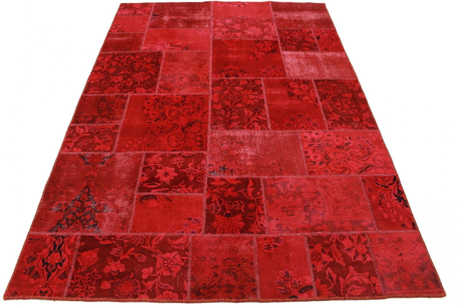 Teppich Rot  Vintage Teppich Rot in 240x160cm 1001 2145 bei carpetido