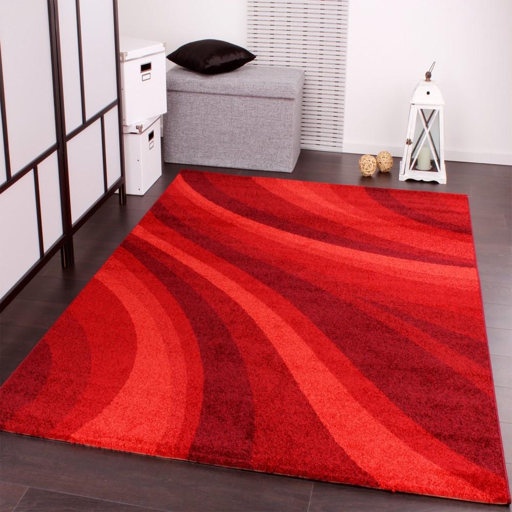Teppich Rot  Designer Teppiche und Hochflor Teppiche 3