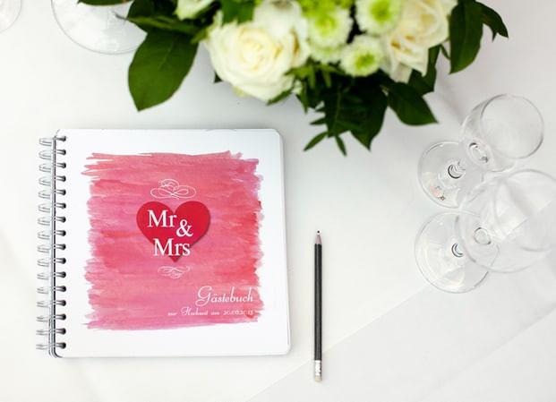 Text Gästebuch Hochzeit  Gästebuch zur Hochzeit Magazin von myprintcard