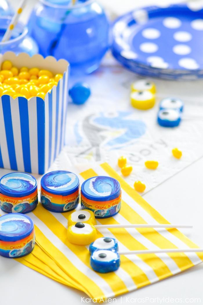 Theme Diy  Kara s Party Ideas Finding Dory Birthday Party Ideas DIY