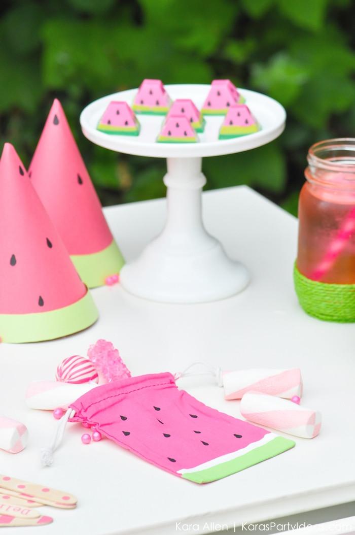 Theme Diy  Kara s Party Ideas Summer Watermelon DIY Birthday Party
