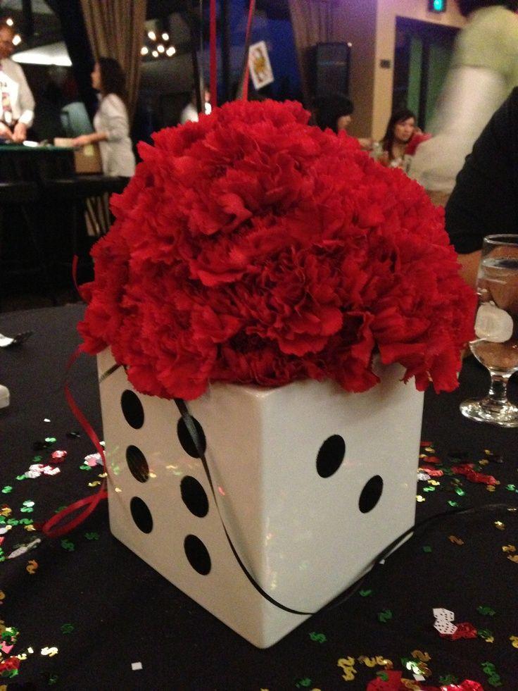 Theme Diy  Best 25 Casino themed centerpieces ideas on Pinterest