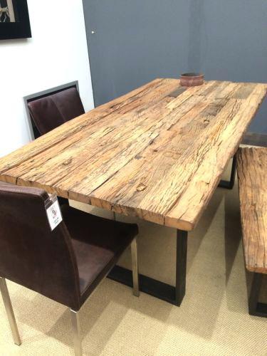 Tisch Ebay Kleinanzeigen  Tisch Holz Massiv Esstisch Bamaco Eiche Natur Gealt