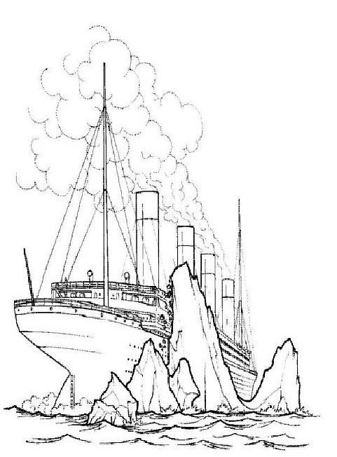 Die Besten Titanic Ausmalbilder - Beste Wohnkultur ...
